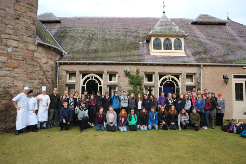 Glen Tanar Estate welcomes pupils to hospitality careers day