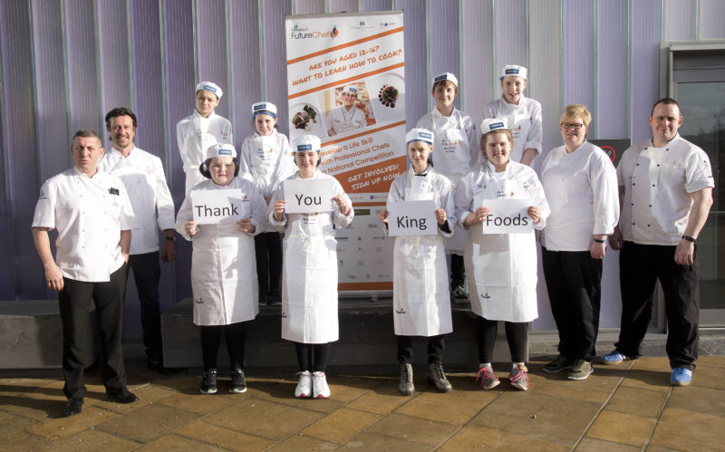 A thank you to Kings Foods in Aberdeen